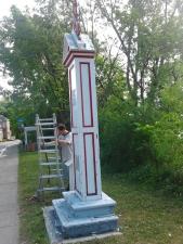 Entretien de la croix Vanier